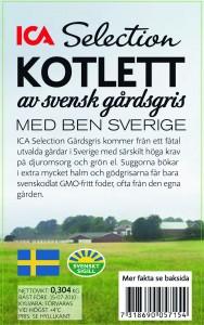 LRF och Svenskt Sigill är med och tar fram ett nytt premiumsortiment – Gårdsgrisen