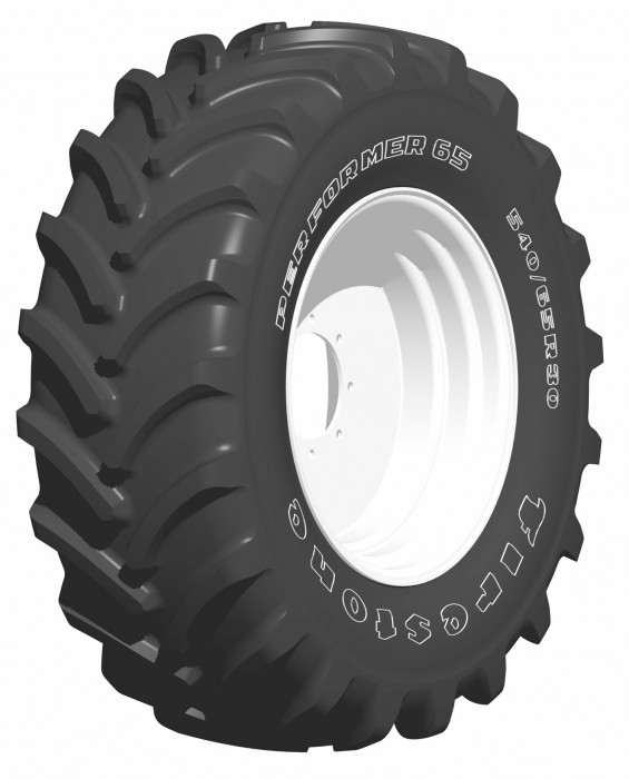 Firestone lanserar traktordäcket Performer 65