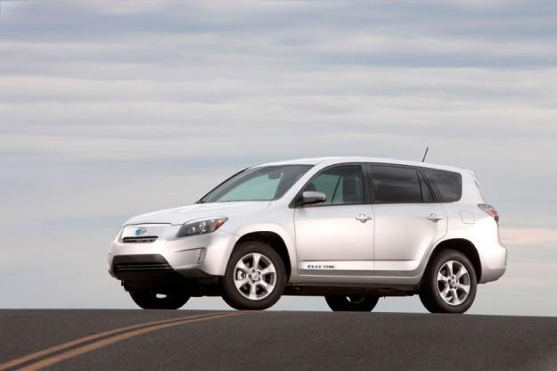 """Toyota lanserar """"RAV4 EV"""""""