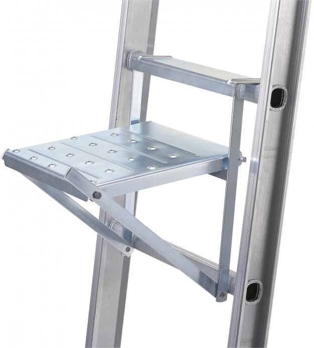 Ökad säkerhet med ståplan på stege