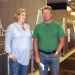 Carolin Jasinski och hennes far Magnus Carlberg.