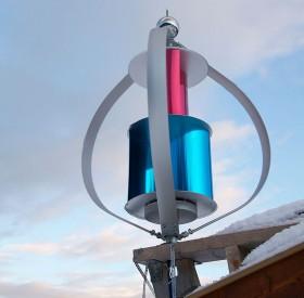 Den lilla kinesiska vindsnurran är ljudlös för att den använder magnetisk levitation i stället för kullager. Enligt Aarmo producerar den heller ingen turbulens,vilket gör att flera vindsnurror kan sättas upp på rad.