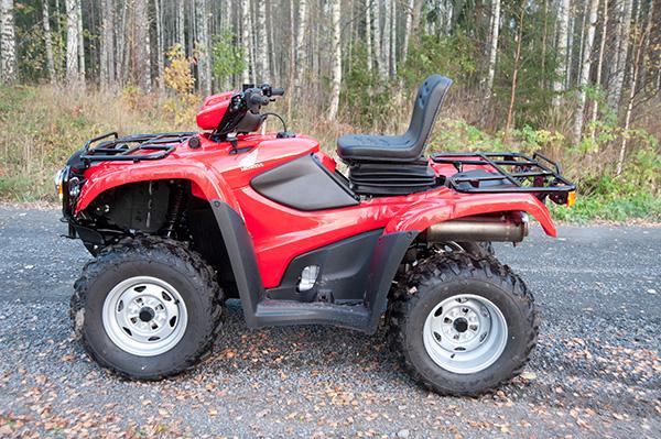 Registrera om fyrhjuling till traktor