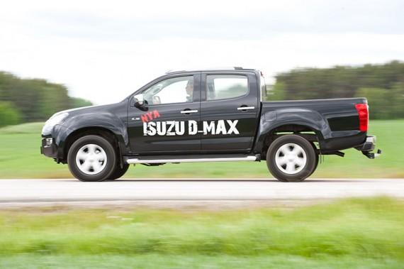 Isuzu D-Max.