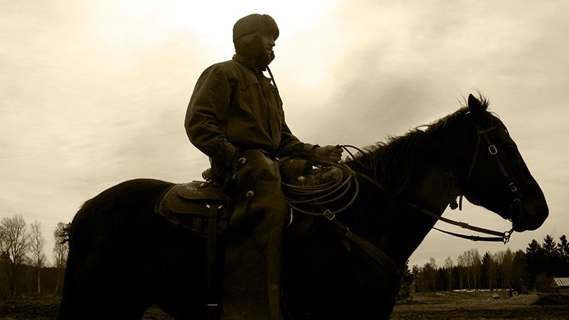 En svensk cowboy