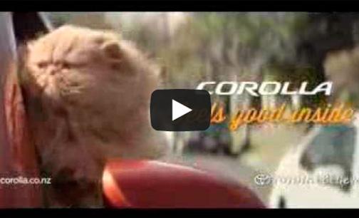 Reklamfilm för Toyota Corolla 2013