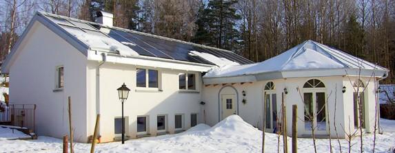 Gammal villa blev plusenergihus