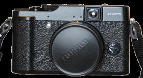 Fujifilm X20 Zoomomfång: 28 - 112 mm* Bländare: 2,0 - 2,8 Megapixlar: 12