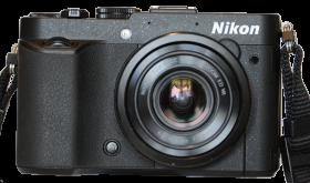 Nikon P7700 Zoomomfång: 28 - 200 mm* Bländare: 2,0 - 4,0 Megapixlar: 12