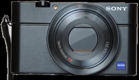 Sony DSC-RX100 Zoomomfång: 28 – 100 mm* Bländare: 1,8 - 4,9 Megapixlar: 20
