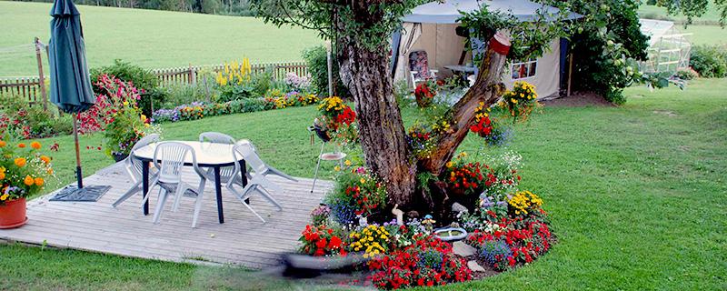 En snygg och välskött trädgård kan öka värdet med 250.000 kronor på en genomsnittsvilla. Foto: Anders Andersson.