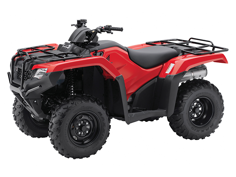 2014 Honda FourTrax Rancher 4x4.