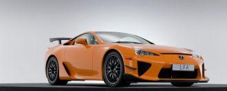 Exklusiv Lexus på auktion