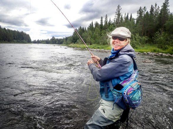 Sivan lottar ut fiskekurs