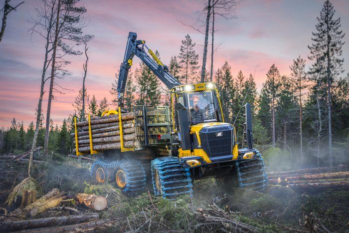 Ny serie F-skotare för ett effektivt skogsbruk