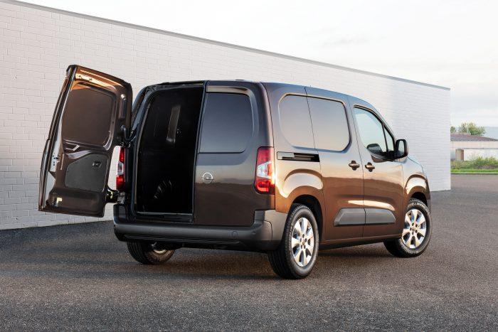 Opel Combo Skåp – prisvinnande skåpbil